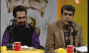 رضا احسان پور (سمت چپ)