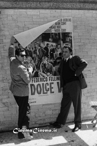 ۱۹۶۰، با مارچلو ماسترویانی بازیگر فیلم «زندگی شیرین»