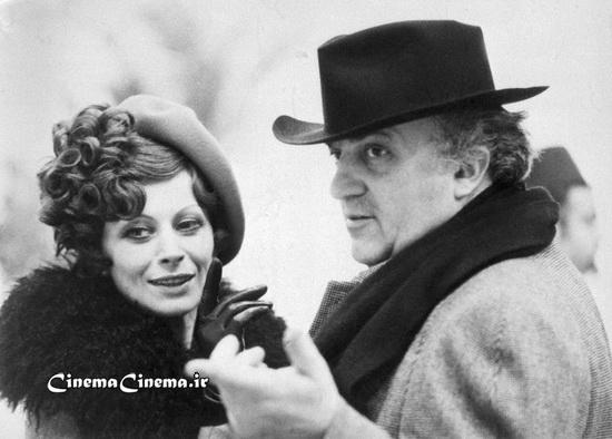 ۱۹۷۳، با ماگالی نوئل بازیگر سر صحنه فیلم «آمارکورد»