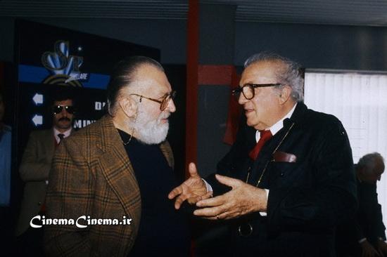 ۱۹۸۵، با سرجو لئونه کارگردان سینما