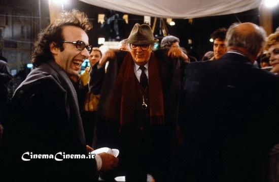 ۱۹۸۹، با روبرتو بنینی بازیگر سر صحنه فیلم «آوای ماه»