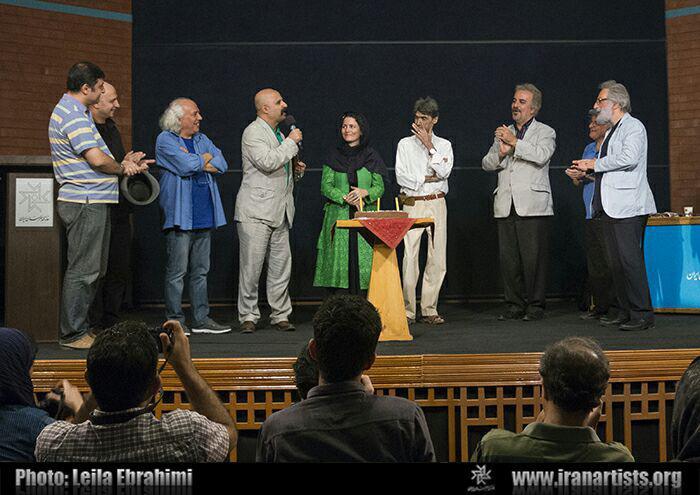 عکس های اولین شب از هفته فیلم ناصر تقوایی در سینماتک خانه هنرمندان و جشن تولد هفتاد و پنج سالگی اش عکس ها لیلا ابراهیمی