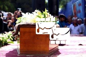 مراسم تشییع پیکر داود رشیدی۶