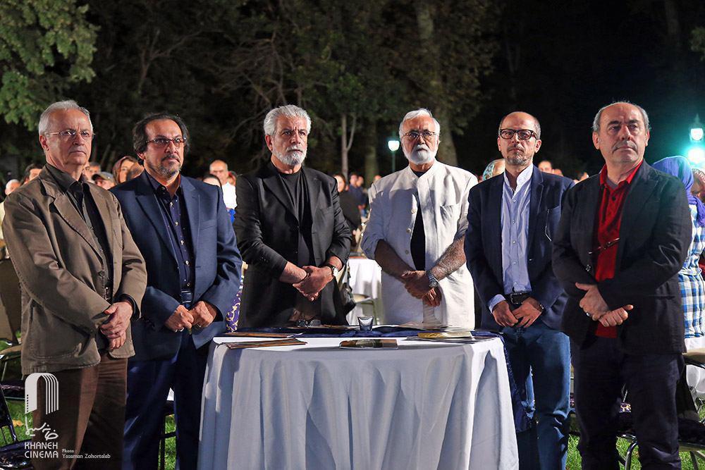 غلامرضا موسوی کمال تبریزی علیرضا رضاداد جشن سینمای مستند
