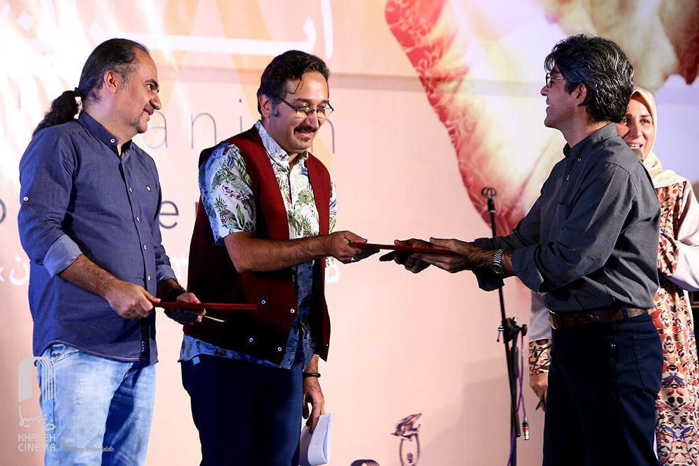 کیوان علیمحمدی و امید بنکدار جشن سینمای مستند