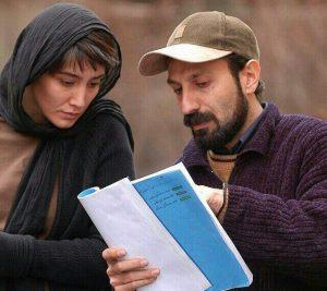 اصغر فرهادی هدیه تهرانی پشت صحنه چهارشنبه سوری