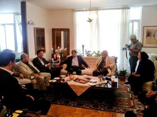 علی جنتی حجتالله ایوبی خانواده داود رشیدی
