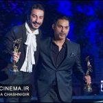 پیمان معادی نوید محمدزاده هجدهمین جشن خانه سینما