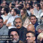علیرضا شجاعنوری حجتالله ایوبی هجدهمین جشن خانه سینما