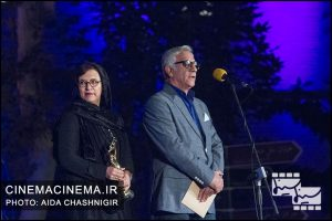 مسعود رایگان رویا تیموریان هجدهمین جشن خانه سینما