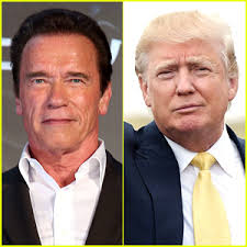 آرنولد و ترامپ
