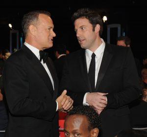 تام هنکس و بن افلک