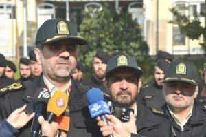 سردار ساجدی نیا رییس پلیس و فرمانده انتظامی تهران