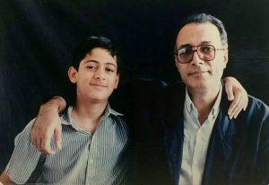 بهمن کیارستمی، عباس کیارستمی