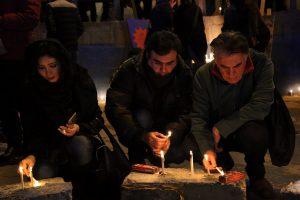 ادای احترام هنرمندان به شهدای آتش نشان حادثه پلاسکو