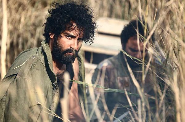 تصویری از ساعد سهیلی در پشت صحنه فیلم جدیدش