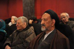 محمود دعایی مراسم بزرگداشت هنرمندان درگذشته در سال ۹۵