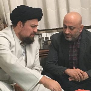 سیدحسن خمینی، عارف لرستانی