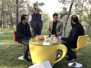 سپند امیرسلیمانی، علی اوجی، علی ضیا