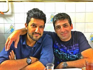 عکسی از حمید گودرزی و حامد بهداد