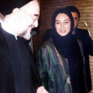 هدیه تهرانی، محمد خاتمی