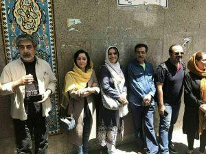 حسین زمان نازنین بیاتی الهام پاوهنژاد