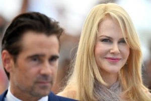 Actors+Collin+Farrell+and+Nicole+Kidman