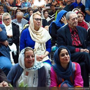 غزل شاکری، مرضیه برومند، احمدرضا احمدی