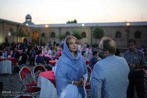 مهناز افشار مراسم سومین جشن عکاسان سینمای ایران در باغ موزه قصر