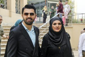 امید معلم و آذر معماریان عکس سحر لطفی (۲)