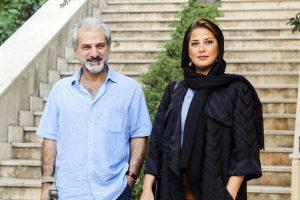 ناصر هاشمی و طناز طباطبایی عکس سحر لطفی (۲)