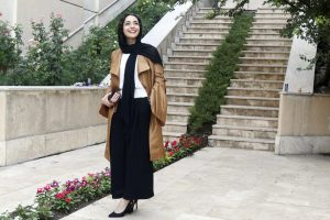 یازدهمین جشن انجمن منتقدان و نویسندگان سینمایی عکس سحر لطفی (۴)