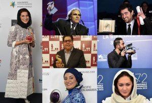 جوایز بازیگران