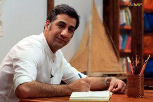 محمد نادری کتاب باز