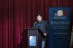 کیوان کثیریان هفته فیلم ایران و فرانسه