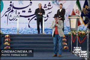 کامبوزیا پرتوی در قرعه کشی برنامه نمایش فیلمهای سی و ششمین جشنواره فیلم فجر