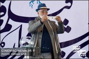 غلامرضا موسوی در قرعه کشی برنامه نمایش فیلمهای سی و ششمین جشنواره فیلم فجر