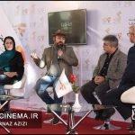 معرفی فیلم زنانی باگوشوارهای باروتی در مراسم دو قدم تا سیمرغ