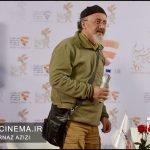 مصطفی رزاق کریمی در معرفی فیلم بانو قدس ایران در مراسم دو قدم تا سیمرغ