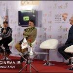 معرفی فیلم بانو قدس ایران در مراسم دو قدم تا سیمرغ