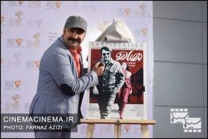 مهران احمدی در معرفی فیلم مصادره در مراسم دو قدم تا سیمرغ