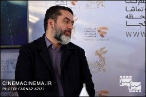 سید محمود رضوی در معرفی فیلم لاتاری در مراسم دو قدم تا سیمرغ