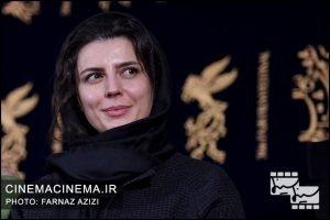 لیلا حاتمی در اکران فیلم بمب