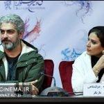 مهدی پاکدل و سحر دولتشاهی در نشست خبری فیلم چهارراه استامبول