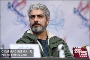 مهدی پاکدل در نشست خبری فیلم چهارراه استامبول