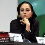 رعنا آزادی ور در نشست خبری فیلم چهارراه استامبول