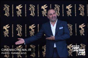 حمید فرخ نژاد در اکران فیلم لاتاری در سینما رسانه