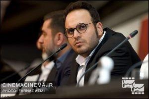 محمد حسین مهدویان در نشست خبری فیلم لاتاری