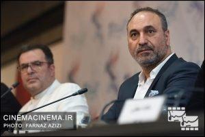 حمید فرخ نژاد در نشست خبری فیلم لاتاری