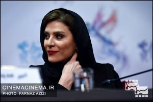 سحر دولتشاهی در نشست خبری فیلم عرق سرد